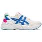Buty biegowe damskie asics gel-bnd biało-niebieskie - biały    niebieski    różowy