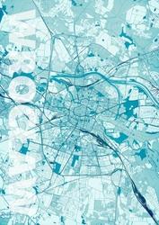 Wrocław - Błękitna mapa