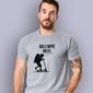 Chłopak - boli mnie mózg. t-shirt męski jasny melanż xl
