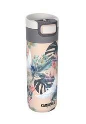 Kubek termiczny kambukka etna 500 ml - paradise flower - beżowy || wielokolorowy