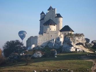 Lot balonem - jura krakowsko-częstochowska