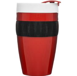 Kubek termiczny do kawy To Go Cafe Sagaform czerwono-czarno-biały SF-5017315
