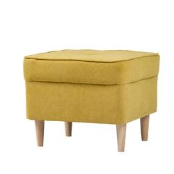 Podnóżek do fotela uszaka Alex II żółty