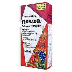 Floradix żelazo i witaminy tonik 500ml
