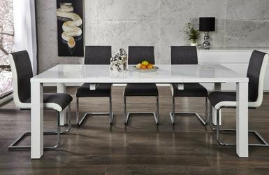 Stół rozkładany taros 120-200x90 cm biały