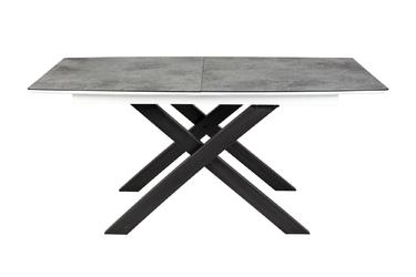 Stół rozkładany lodre 160-200x90 cm szary