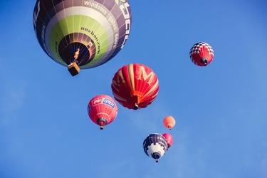 Balony - plakat premium wymiar do wyboru: 30x20 cm