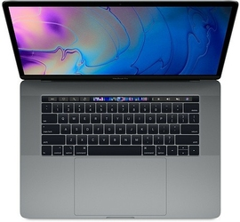 Apple MacBook Pro 15 Touch Bar, 2.3GHz 8-core 9th i932GB512GB SSDRP560X - Space Grey MV912ZEAR1