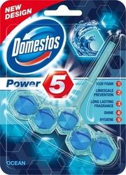 Domestos power 5, ocean, zawieszka do wc, 55g