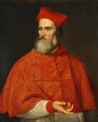 Reprodukcja portret pietro bembo cardinal, tycjan