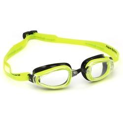 Aquasphere okulary k180 jasne szkła żółty-czarny