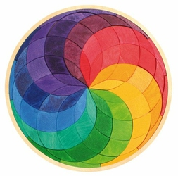 Spirala w kole 3+, tęczowa, Grimms