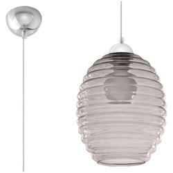 Sollux - lampa wisząca alvaro - szara