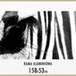 Złota rama aluminiowa 158x53 cm