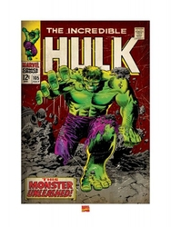 Incredible hulk monster unleashed - reprodukcja