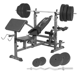 90 kg ławka 6w1 pod sztangę gyronetics