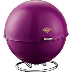 Okrągły pojemnik na pieczywo fioletowy Superball Wesco 223101-36