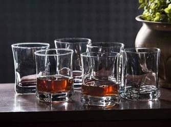 Szklanki do whisky altom design geo 280 ml, komplet 6 szt.