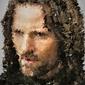 Polyamory - aragorn, władca pierścieni - plakat wymiar do wyboru: 40x50 cm