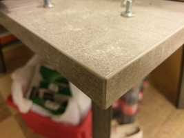 Nowoczesny rozkładany stół borys na metalowych nogach  130-330 cm