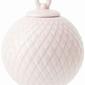 Bombka rhombe soft pink