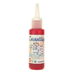Cristallicpaint 50 ml - czerwony ciemny - CZECIE