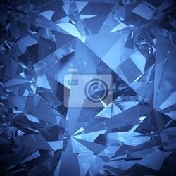 Fototapeta luxury niebiesko facet crystal