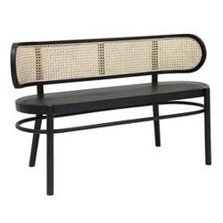 Hk living :: ławka drewniana retro czarna