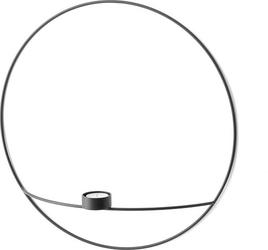 Świecznik pov na tealight 44 cm czerń