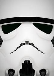 Face it star wars gwiezdne wojny - stormtrooper - plakat wymiar do wyboru: 70x100 cm
