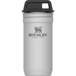 Stalowe kieliszki do alkoholu w białym pojemniku z zakrętką Stanley Adventure 10-01705-037