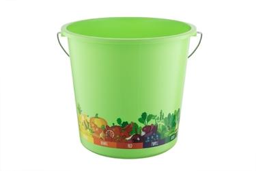 Wiadro plastikowe berossi vitaline 7 l zielone