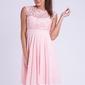 Evalola sukienka pudrowy róż 26012-6