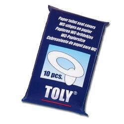 Nakładki jednorazowe sedesowe 10 szt., Toly