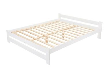 Łóżko drewniane ottawa 160x200 biały