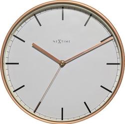 Zegar ścienny company 30 cm biały