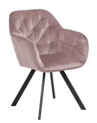 Krzesło lola vic dusty rose auto return - różowy