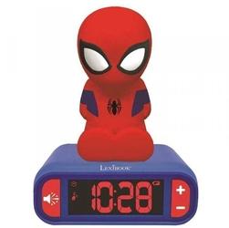 Budzik lampka nocna spiderman zegar