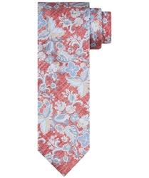 Jedwabny krawat profuomo ze wzorem