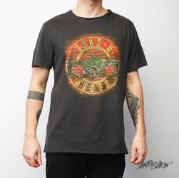 Koszulka amplified guns n roses neon