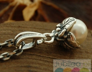 Omisa - srebrny wisiorek z perłą