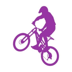 szablon malarski rower sp a42