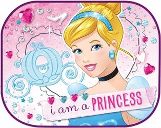 Zasłonki boczne 2 szt. 44-35 cm, Księżniczka, Disney
