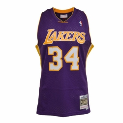 Koszulka Mitchell  Ness NBA LA Lakers Shaq Oneal Swingman - SMJYGS18447-LALPURP99SON