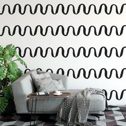 Tapeta na ścianę - geometric swell , rodzaj - tapeta flizelinowa laminowana