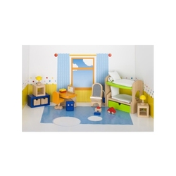 Pokój dziecięcy drewniane mebelki dla lalek
