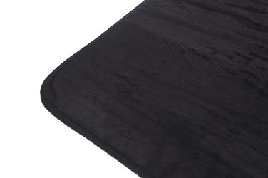 Dywanik łazienkowy 60 x 40 cm czarny