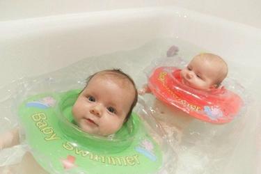 Dmuchany kołnierz Baby Swimmer 3-12 kg, różowy