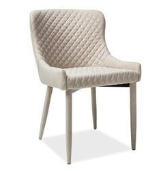 Krzesło tapicerowane belinda beżowy
