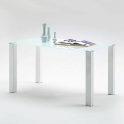 Tebur stół szklany blat 140x80